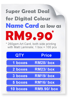 Business Card Printing Malaysia Price Image Collections Cards Images Design And